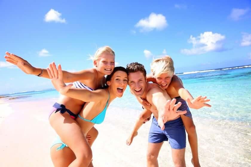 Família em Cancún