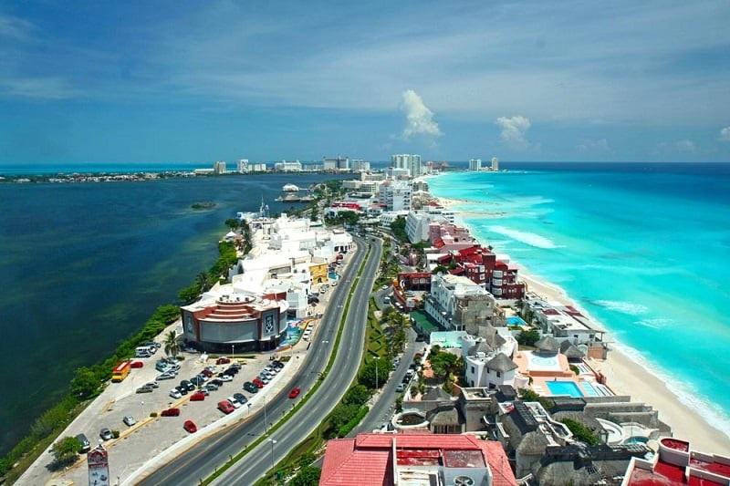 Ficar na Zona Hotelera de Cancún no México