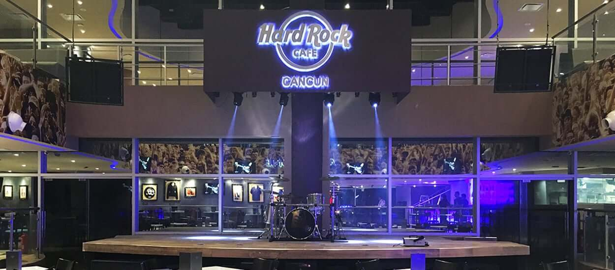 Restaurante Hard Rock Café em Cancún