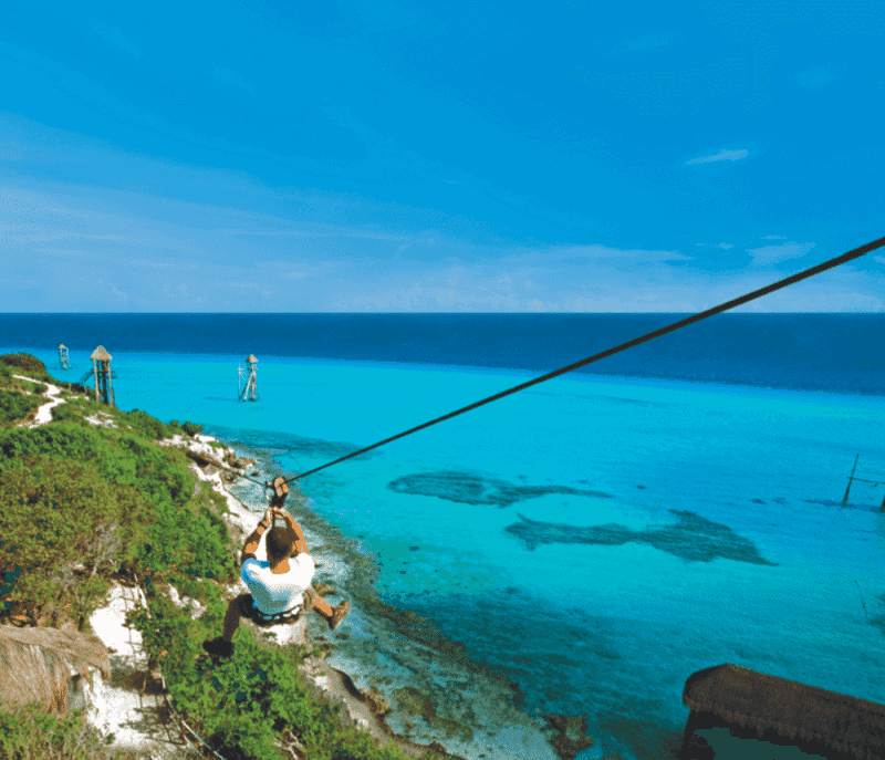 Passeio pela Isla Mujeres para casais apaixonados em Cancún