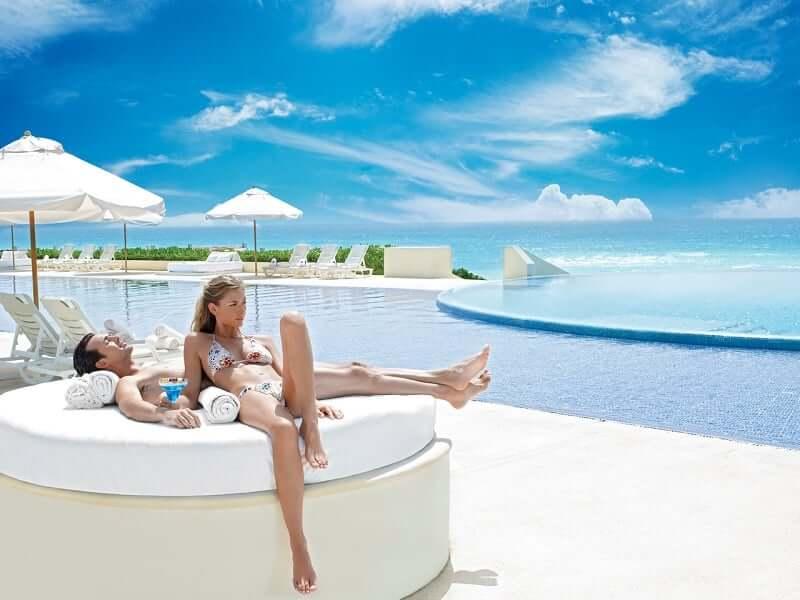 Live Aqua Beach Resort Cancún para casais apaixonados em Cancún