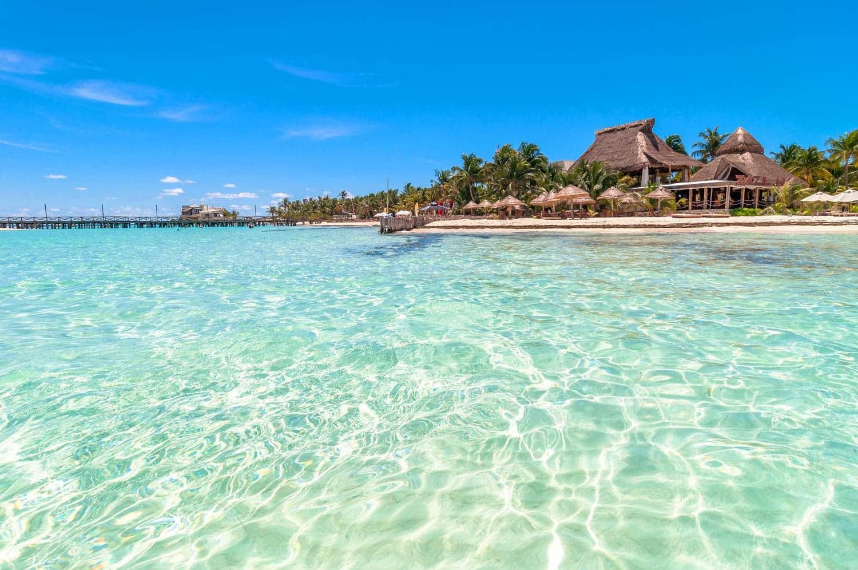 Playa Norte em Cancún