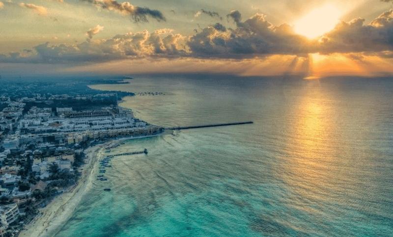 Playa en Cancún