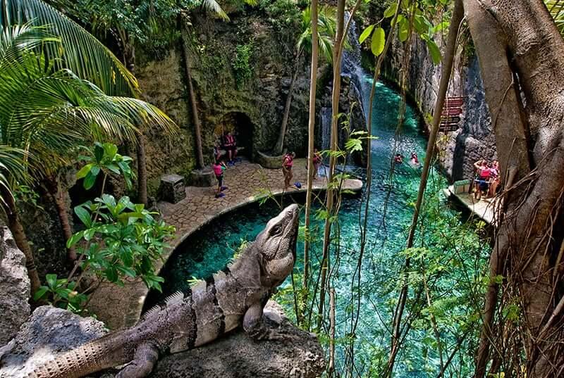 Parque Xcaret Park em Cancún