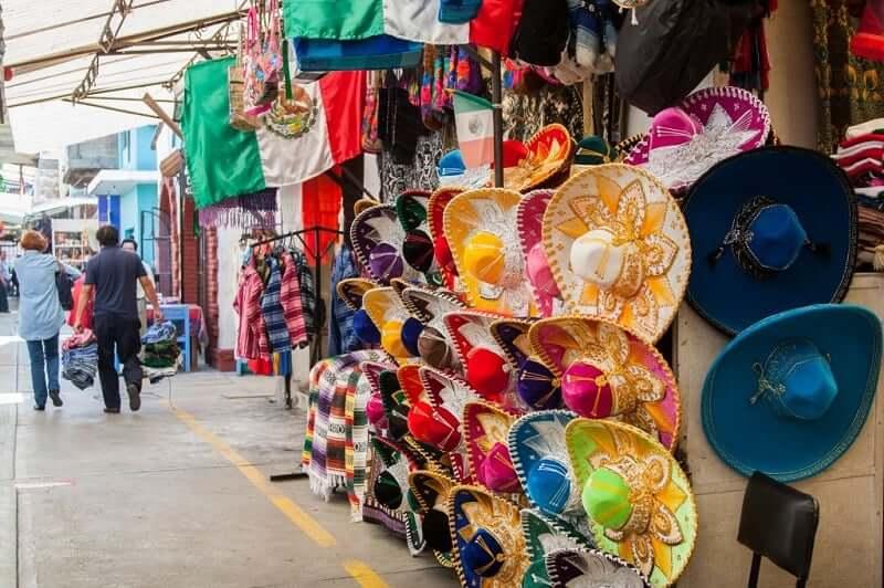 Compras de roupas em Cancún