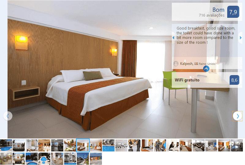 Hotel Ramada Cancun City para ficar em Cancún