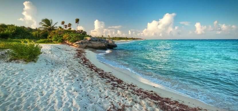 Isla Cozumel na região turística de Cancún