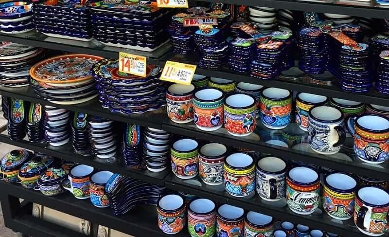 Loja Fiesta Mexicana para comprar lembrancinhas e souvenirs em Cancún no México