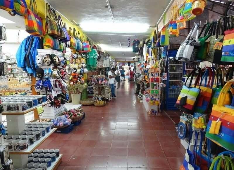 Mercado 28 para comprar lembrancinhas e souvenirs em Cancún