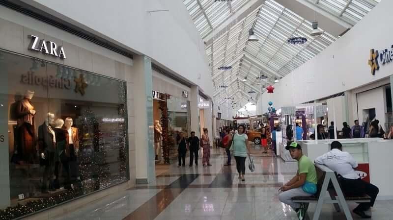 Shopping Plaza Las Americas para comprar calçados em Cancún