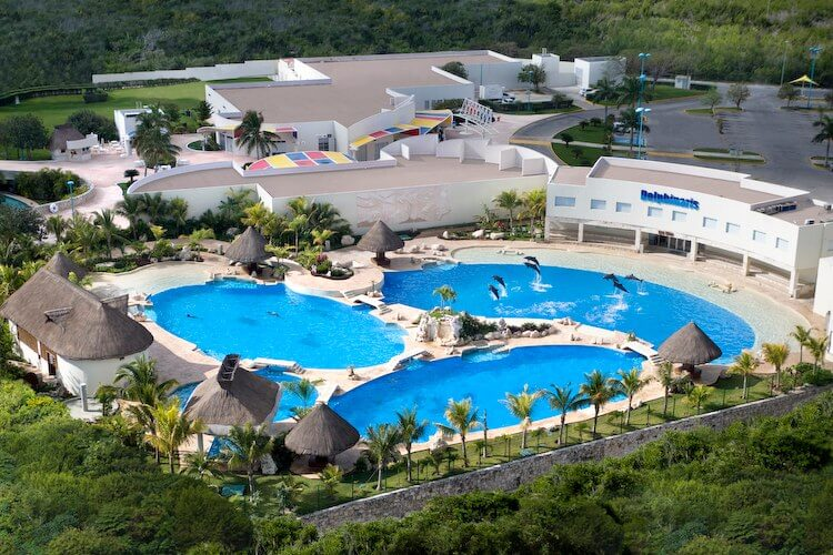 Parque Dolphinaris Park em Cancún