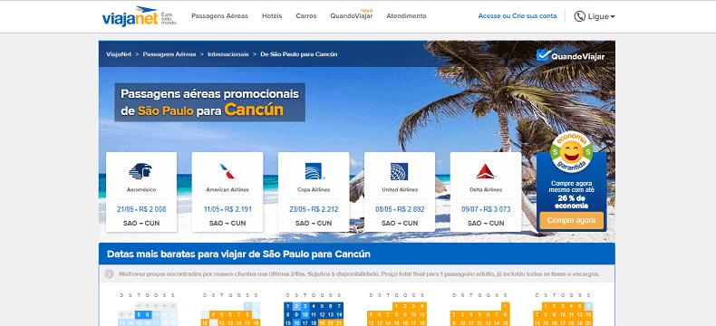 Dicas para achar passagens em promoção para Cancún