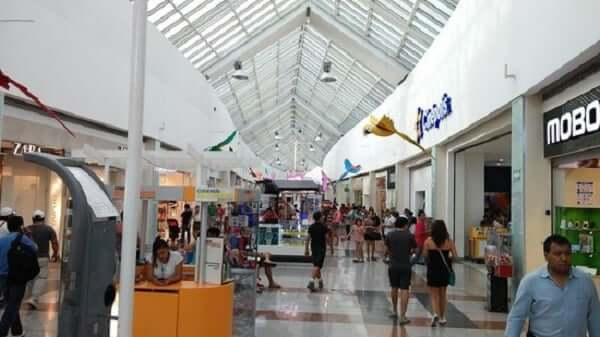 Shopping Plaza Las Americas em Cancún