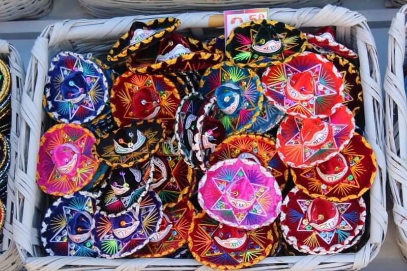 Artesanato na Avenida Tulum em Cancún