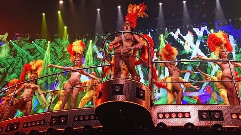 Festa na Coco Bongo em Cancún