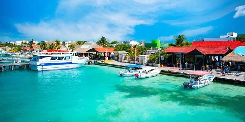 Passeio na Isla Mujeres em Cancún