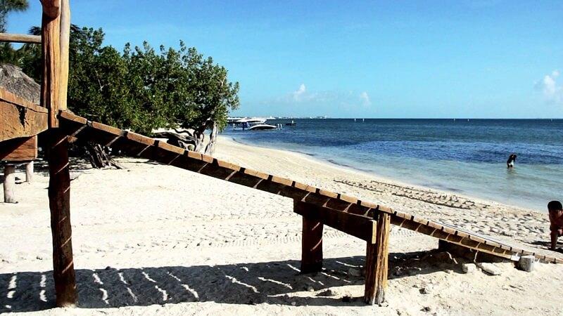 Playa Las Perlas em Cancún