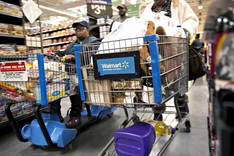 Compras no Walmart na cidade Cancún
