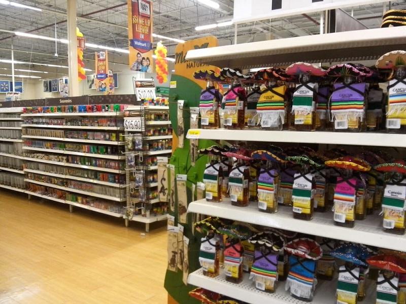 Produtos no Walmart em Cancún