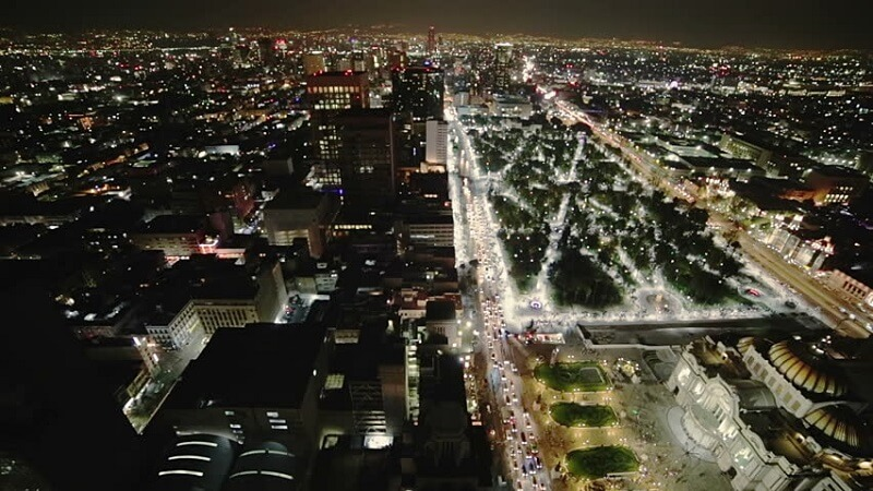 O que fazer a noite na Cidade do México: Centro Histórico