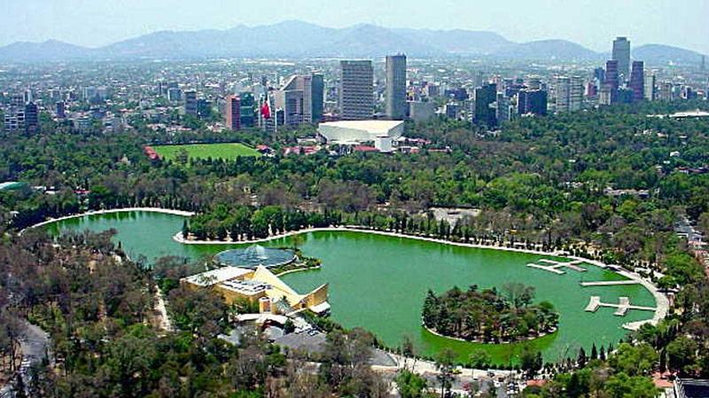 Ponto turístico Bosque Chapultepec na Cidade do México