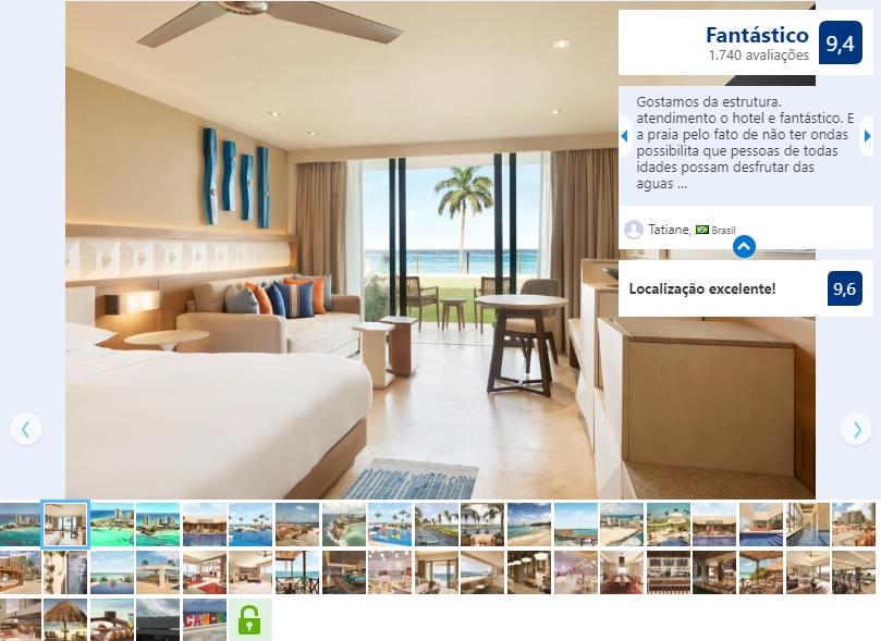 Melhores Hotéis Resorts: Hyatt Ziva em Cancún