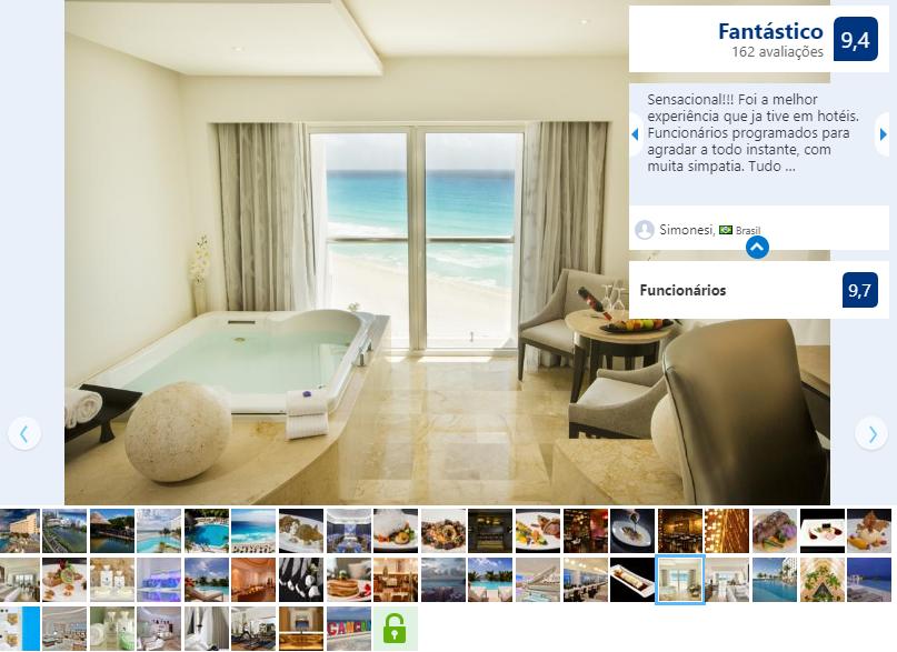 Melhores Hotéis Resorts: Le Blanc Spa Resort em Cancún