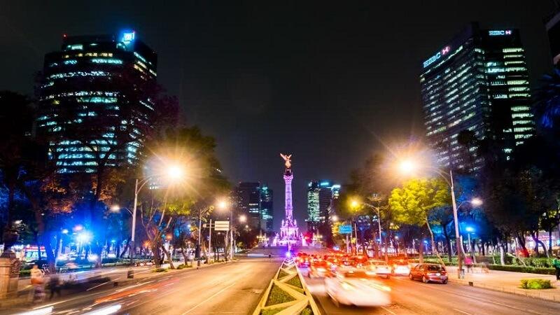 O que fazer a noite na Cidade do México: Avenidas