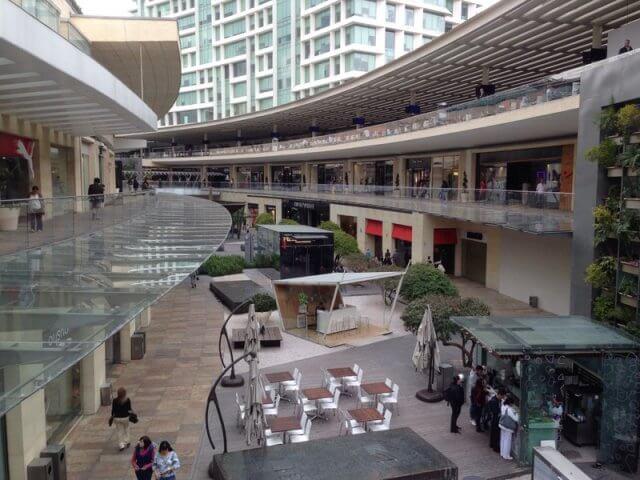 Shoppings na Cidade do México