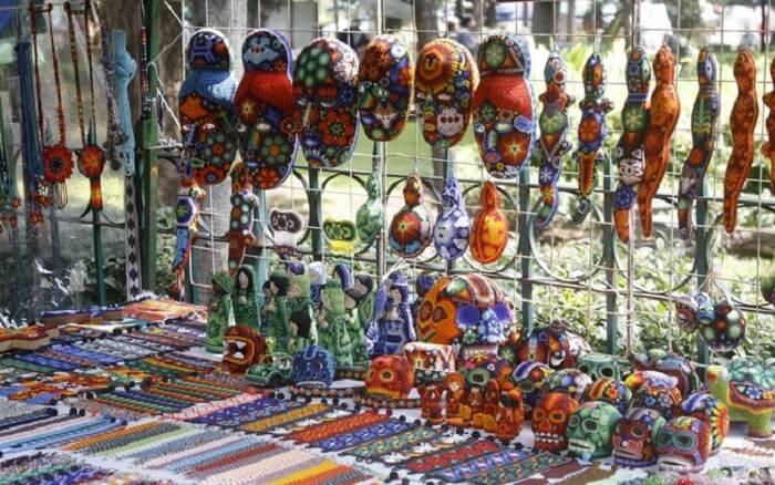 Roteiro nas feiras de artesanato na Cidade do México