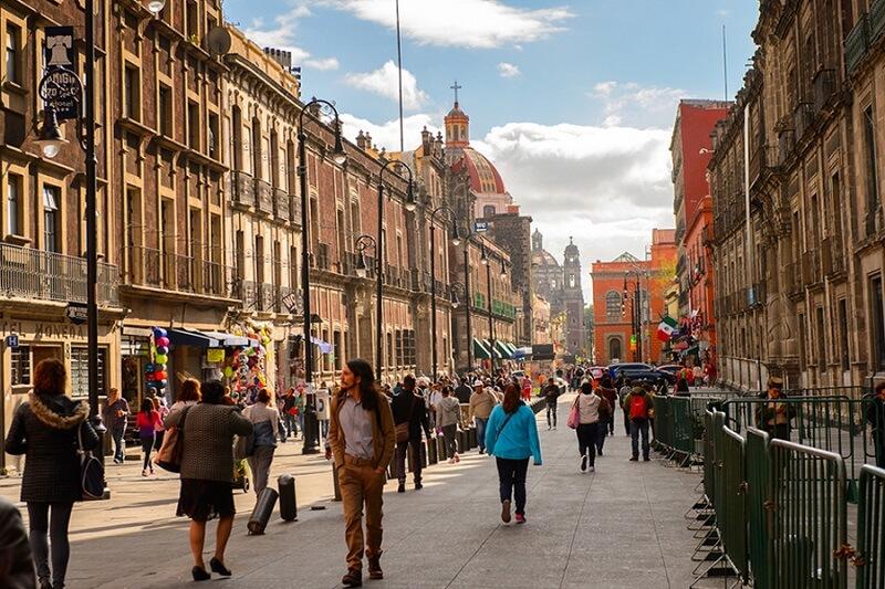 Passeio romântico pelo centro histórico na Cidade do México