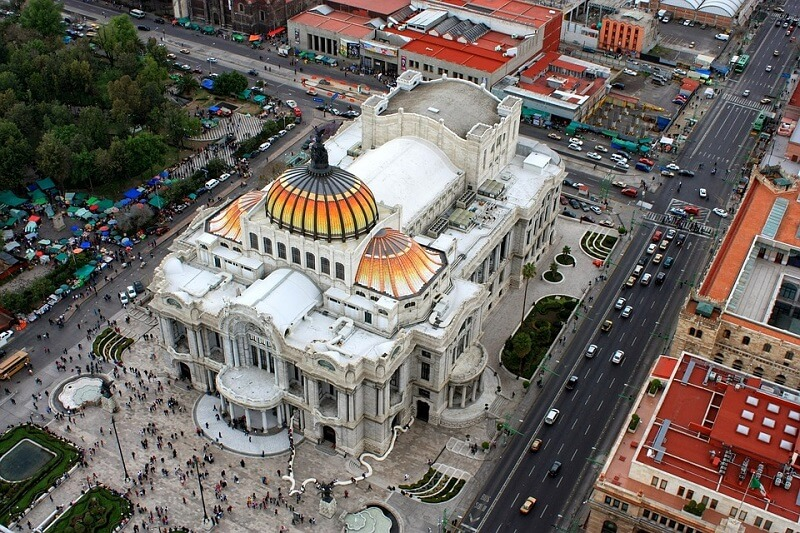 Como andar na Cidade do México