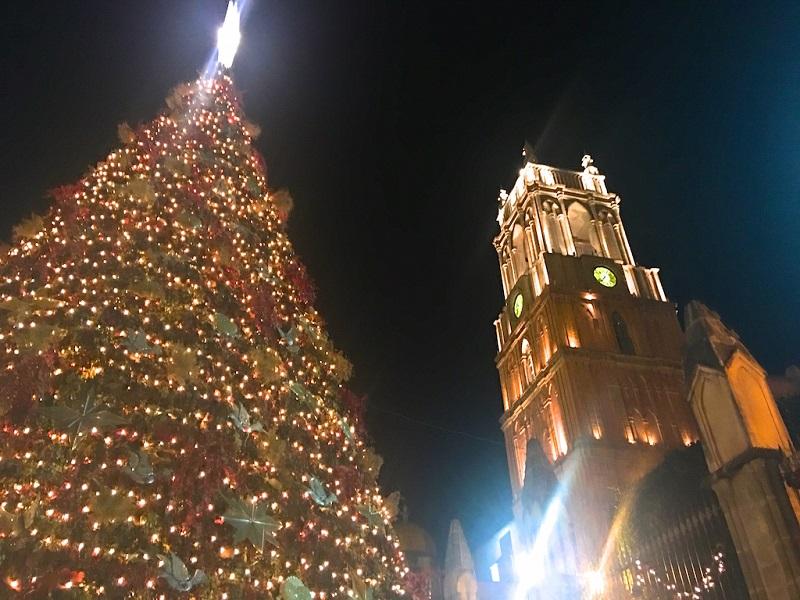 Festividades de Natal na Cidade do México