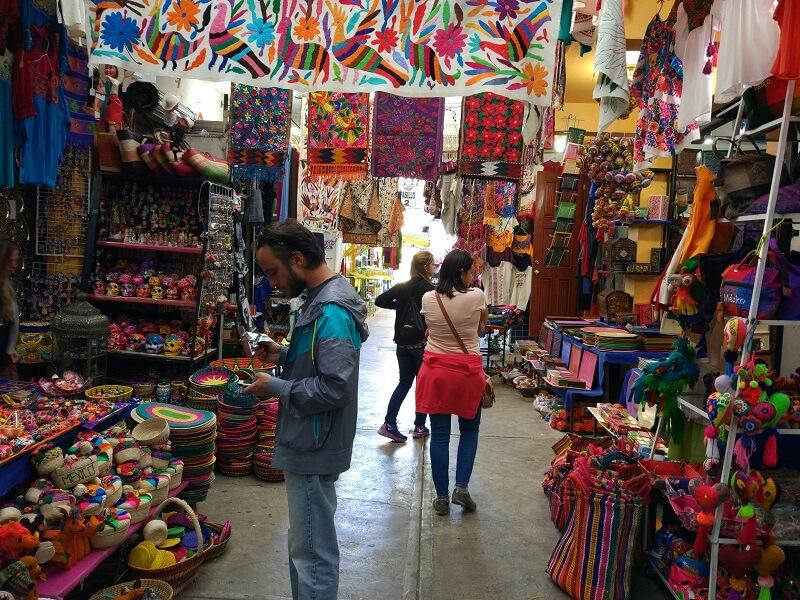 Compras para lua de mel na Cidade do México