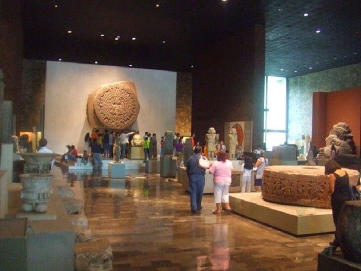 Museu de Antropologia na Cidade do México
