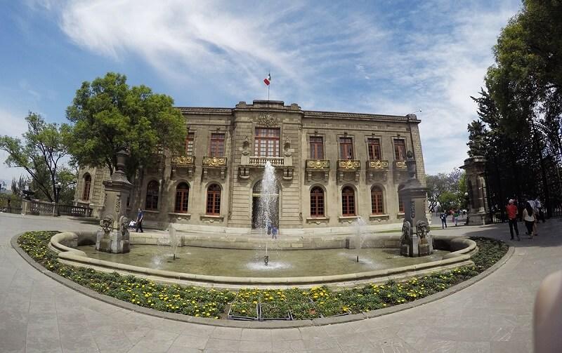 Museu de Chapultepec na Cidade do México