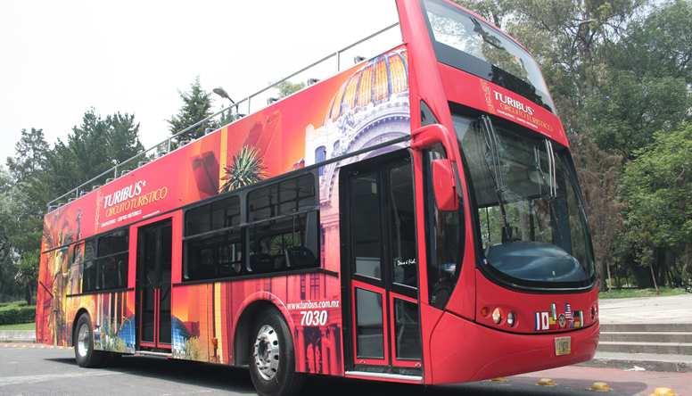 Como andar na Cidade do México de ônibus panorâmico