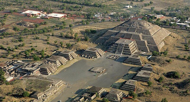 Roteiro nas Pirâmides de Teotihuácan na Cidade do México