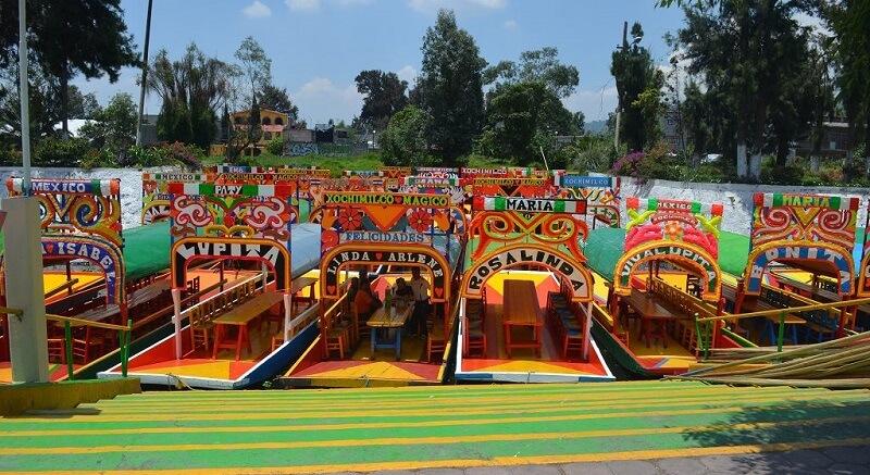 Passeio Xochimilco na Cidade do México