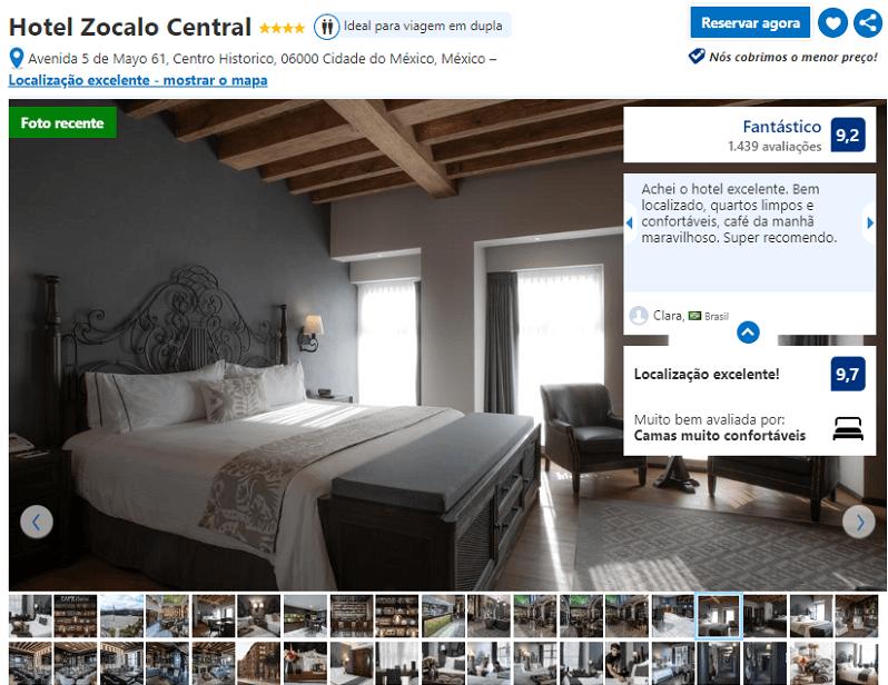 Hotel Zocalo Central para ficar na Cidade do México
