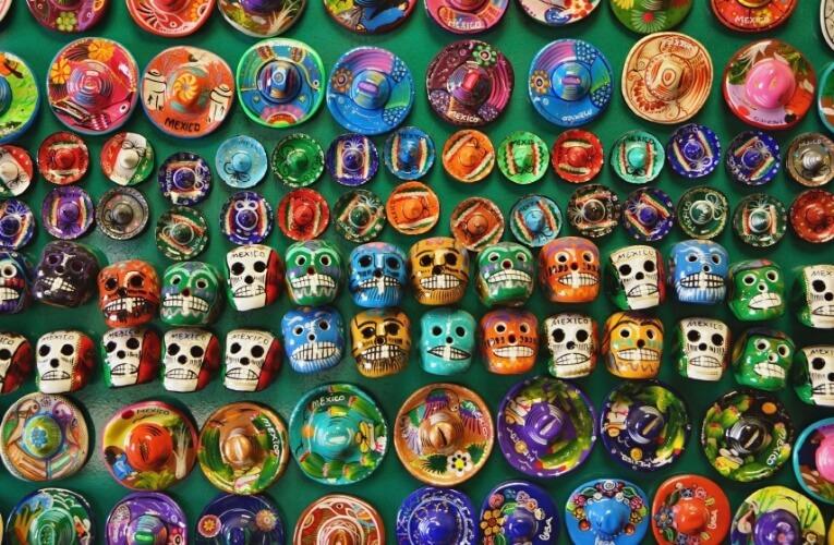 Onde comprar lembrancinhas na Cidade do México