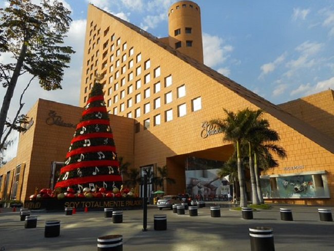 Compras de relógios no Palácio de Hierro na Cidade do México