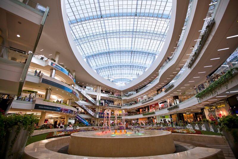 Compras de relógios no shopping Centro Santa Fé na Cidade do México