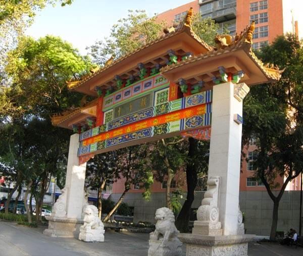 Chinatown na Cidade do México