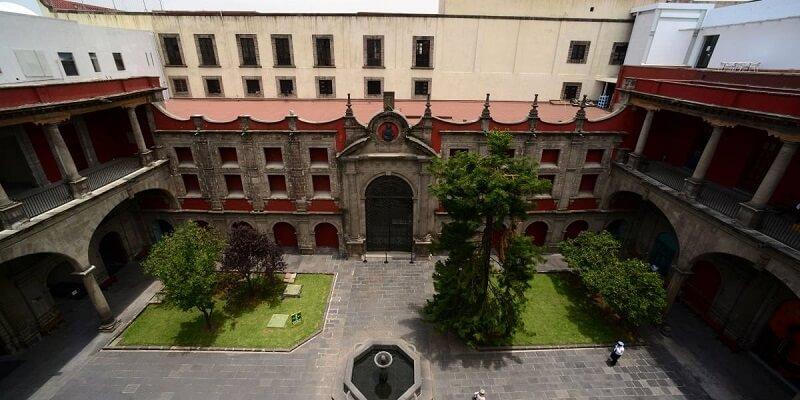 Estrutura do Museu de Las Culturas na Cidade do México