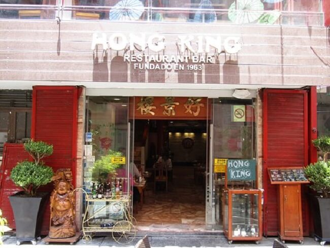 Restaurantes no Barrio Chino Chinatown na Cidade do México