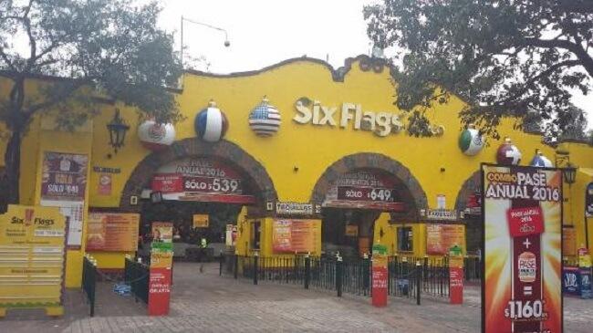 Informações sobre o Parque Six Flags na Cidade do México