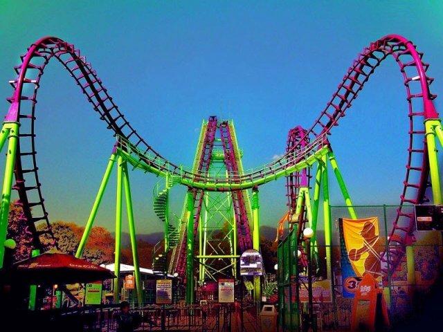Parque Six Flags na Cidade do México
