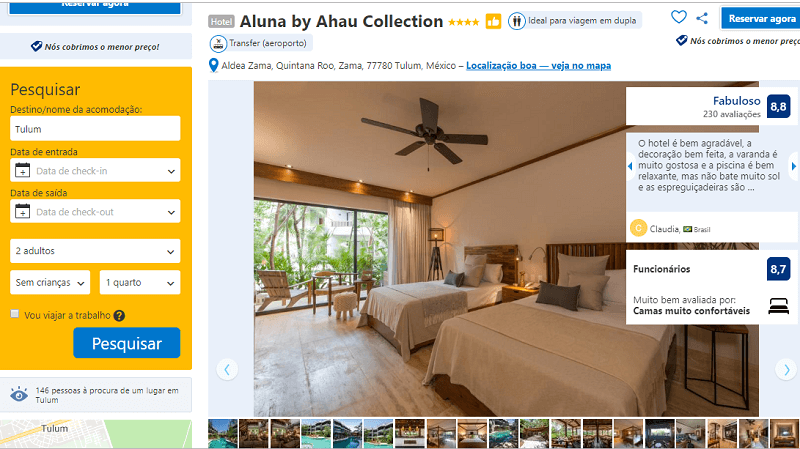 Estadia no Hotel Aluna by Ahau Collection