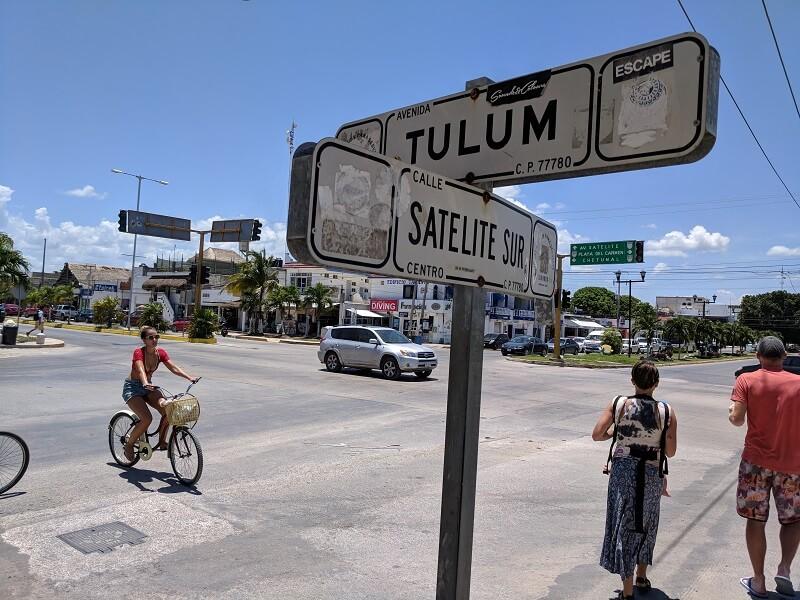 Andar a pé em Tulum